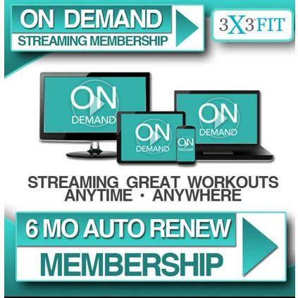 6 Month Auto-Renew OnDemand Membership