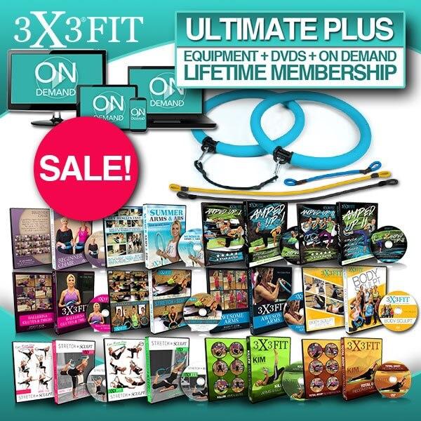 ULTIMATE PLUS - Equipment + DVDs + OnDemand LIFETIME MEMBERSHIP