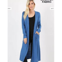 Duster Cardigan Blue Mist