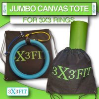 Tote New Canvas Drawstring Tote