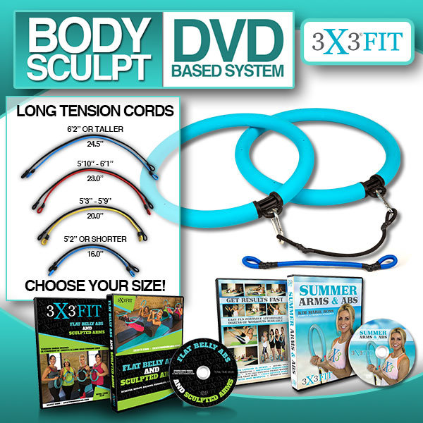 3X3 Fit Body Sculpt