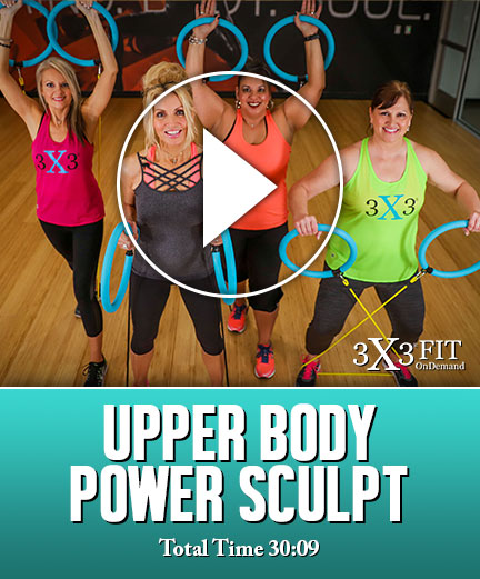 3X3FIT Upper Body Power Sculpt