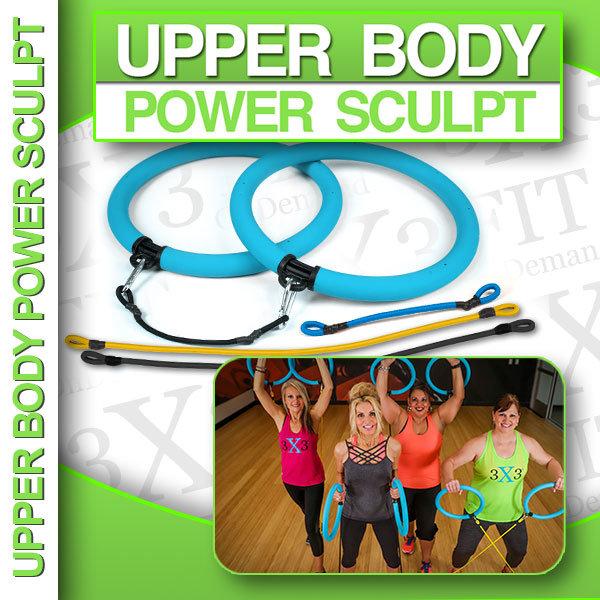 3X3FIT Upper Body Power Sculpt