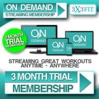 3 Month OnDemand Membership